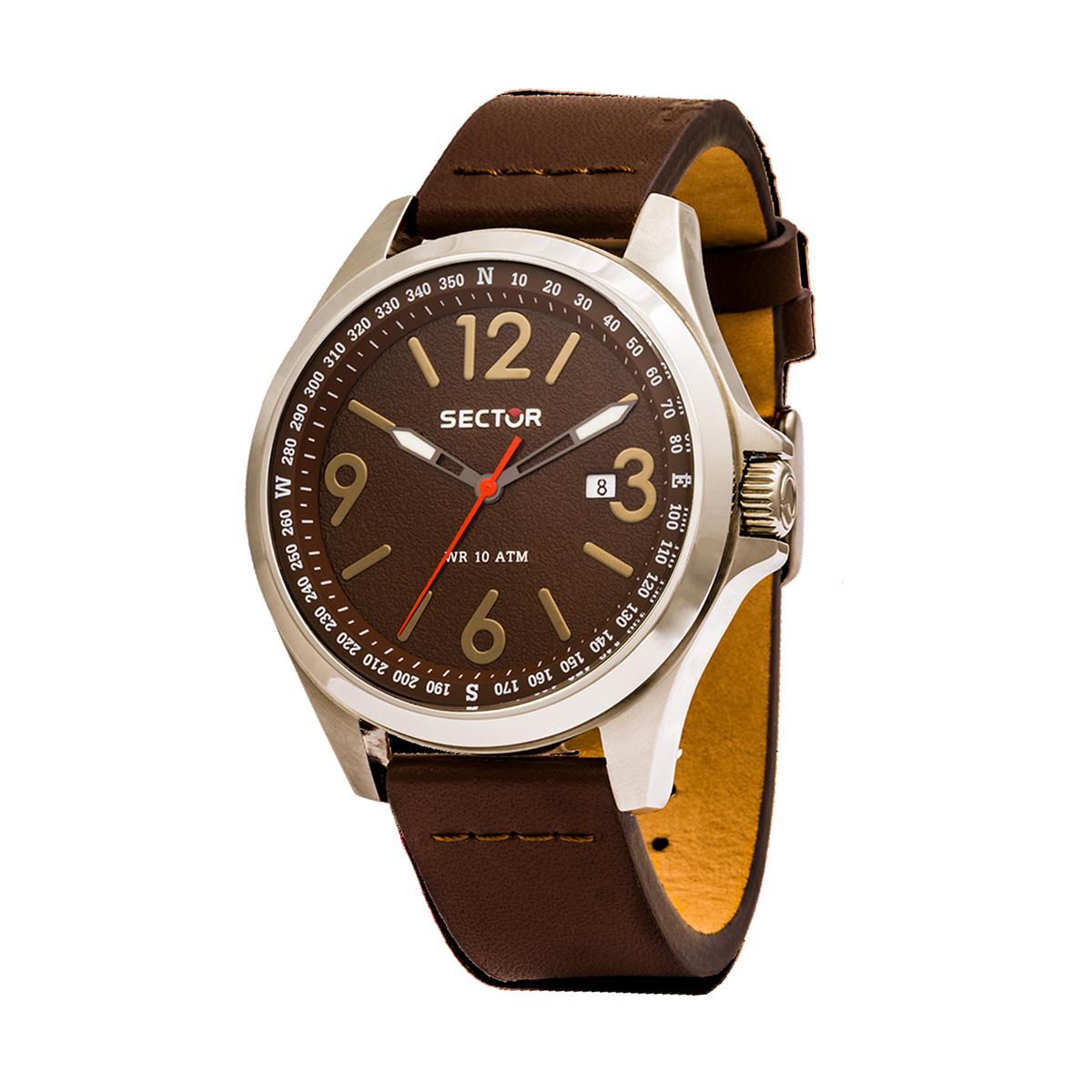 77e0117736a Relógio SECTOR 180 Castanho R32511800201. Adicionar à Lista de Desejos  Remover da Lista de Desejos