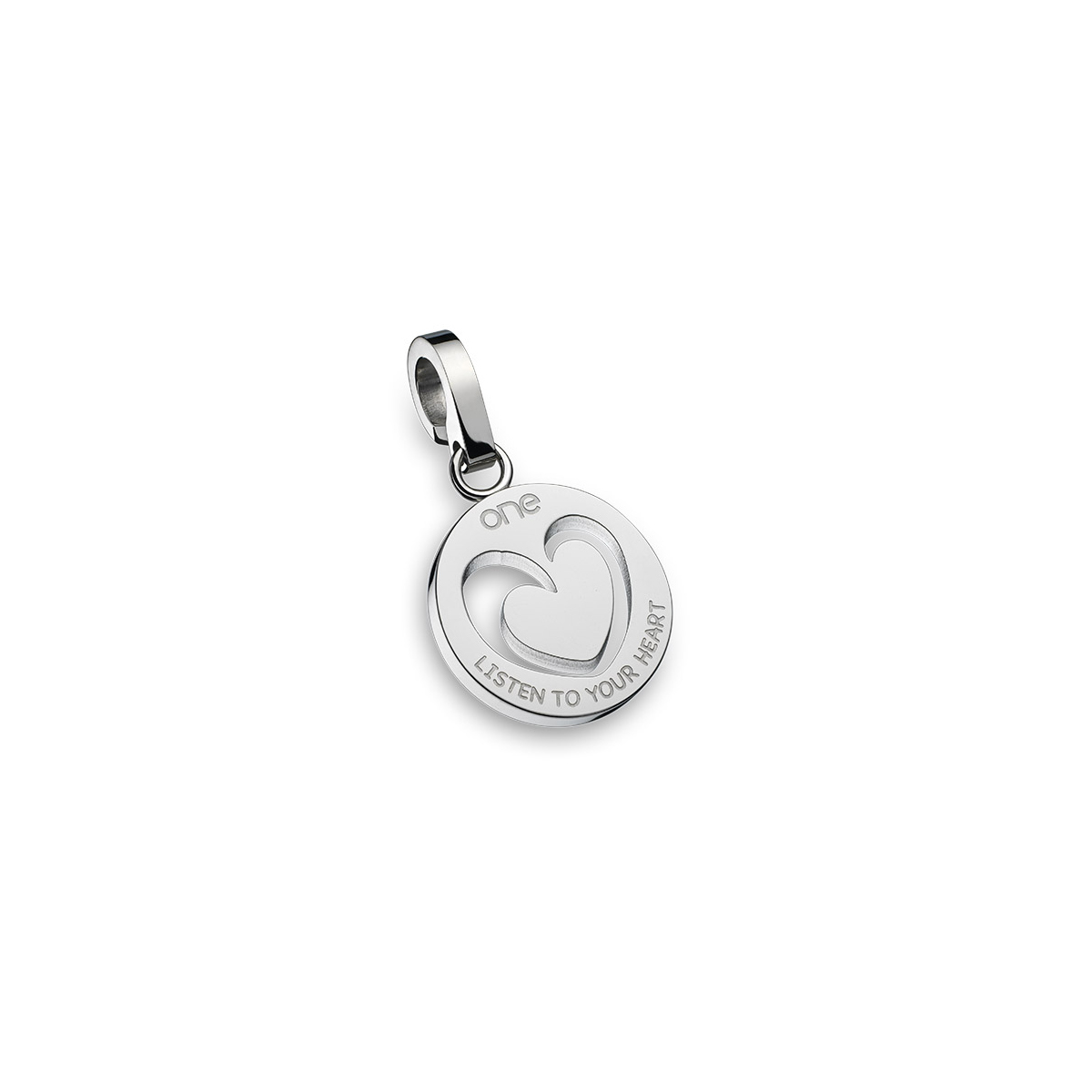 6d6dce4381e Charm ONE JEWELS Listen to Your Heart - OJEBC042