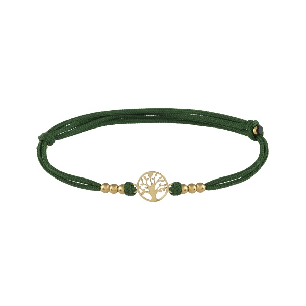 Pulseira UNIKE Five Wishes Dark Green UK.PU.0117.0054
