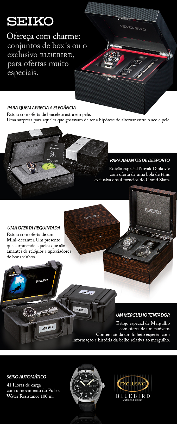 Newsletter Bluebird - Gift Sets Seiko
